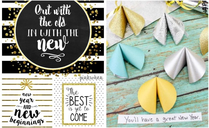 new years eve printable party favors