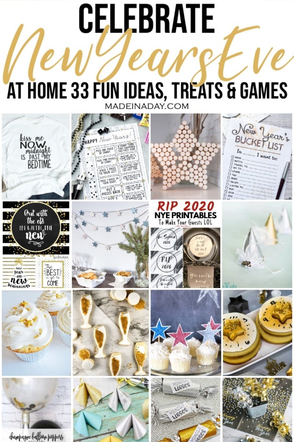 33+ Celebrate New Years Eve at Home Party Ideas
