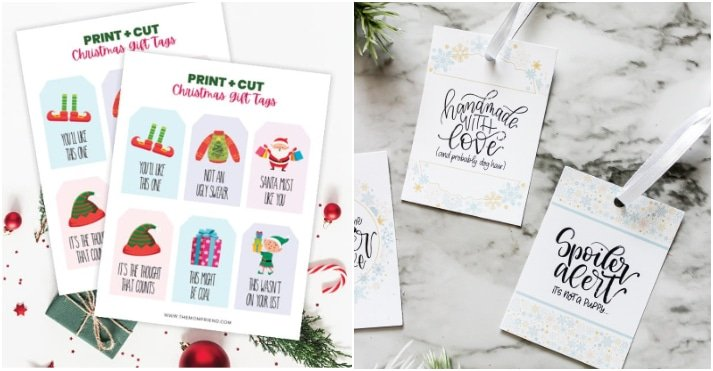 funny gift tags