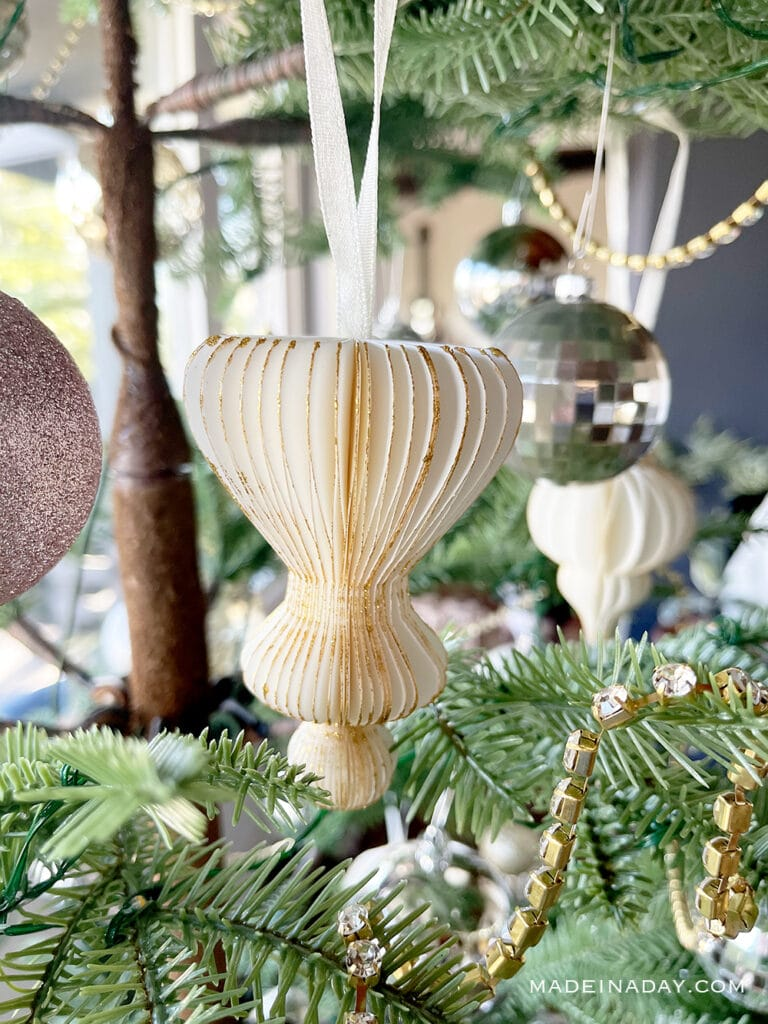 paper honeycomb ornament