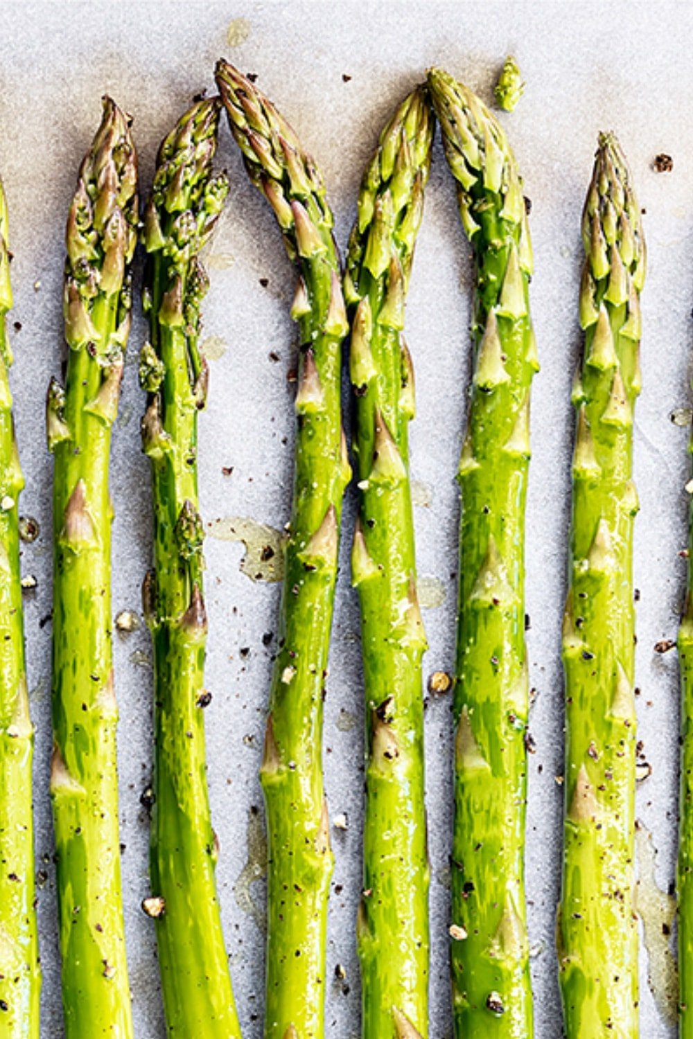 Our Fav Roasted Asparagus with Parmesan Cheese