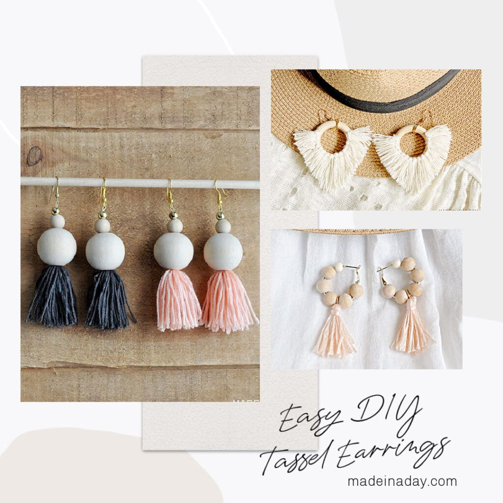 Tassels and Fringe Project Ideas, how to make tassels