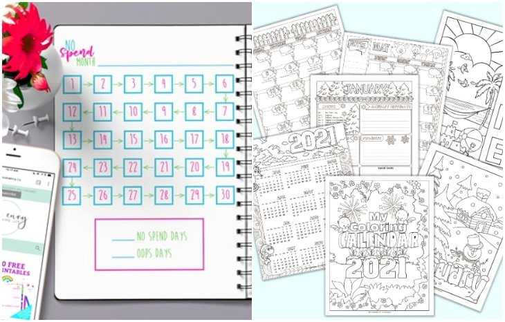 200 page printable planner