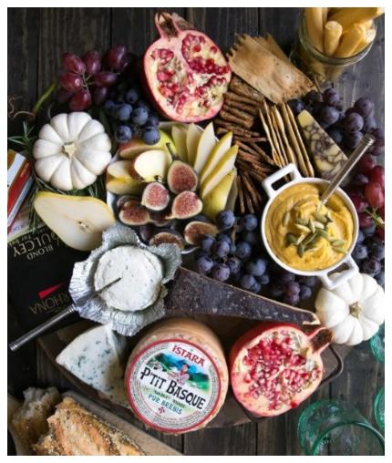 Autumn Cheese Board (Vegetarian)