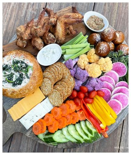 appetizer charcuterie board