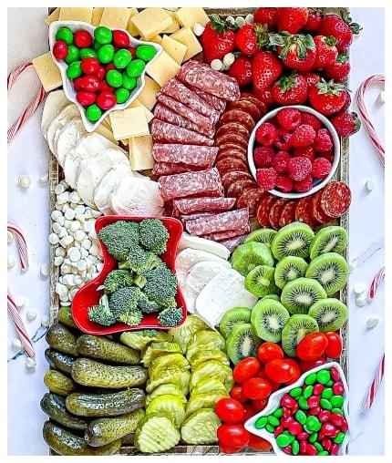 holiday charcuterie board ideas