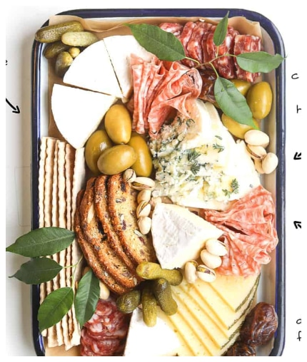 How to Build a Charcuterie & Cheese Platter