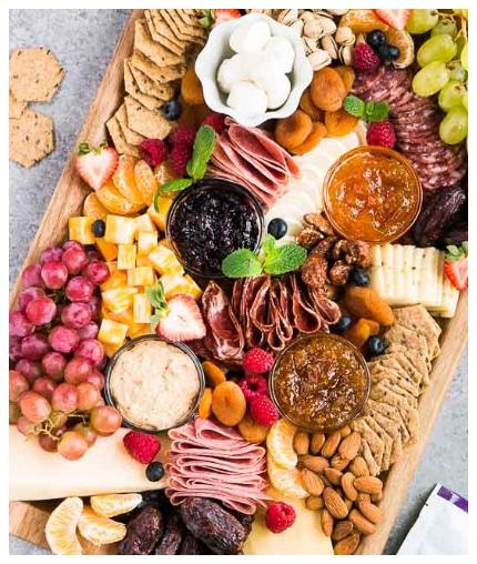 Charcuterie Board (Gluten Free Snack Board)