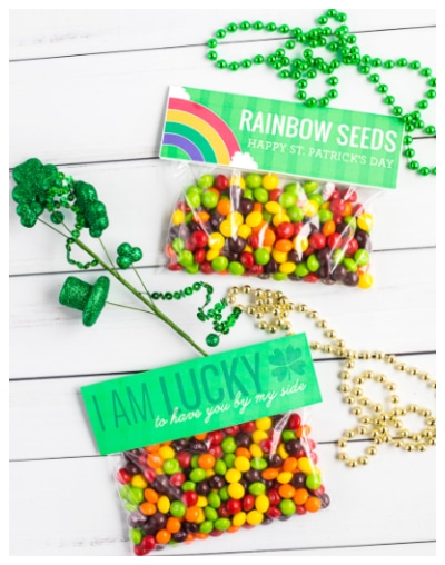 rainbow treat printables