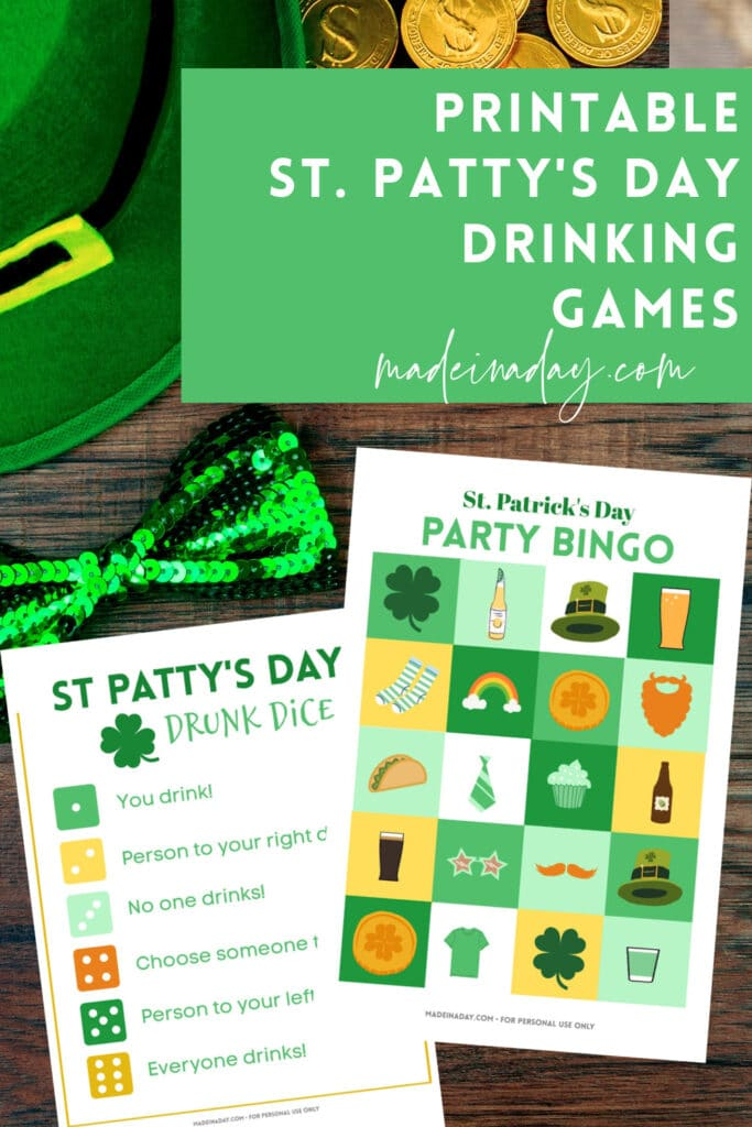 Printable adult drinking games