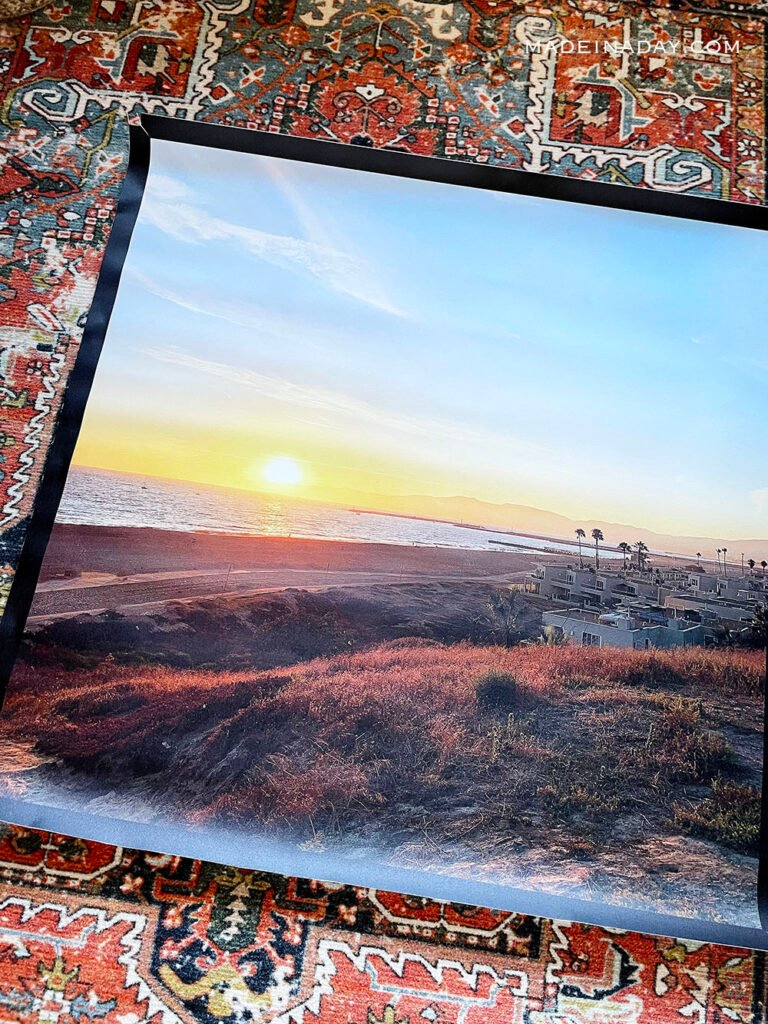 how to stretch a photo canvas