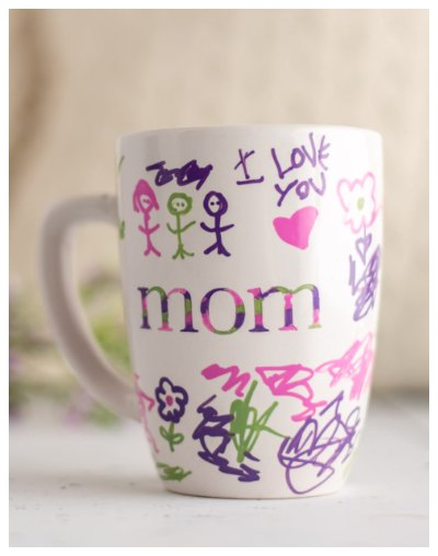 Mothers Day Handmade Sharpie Mug