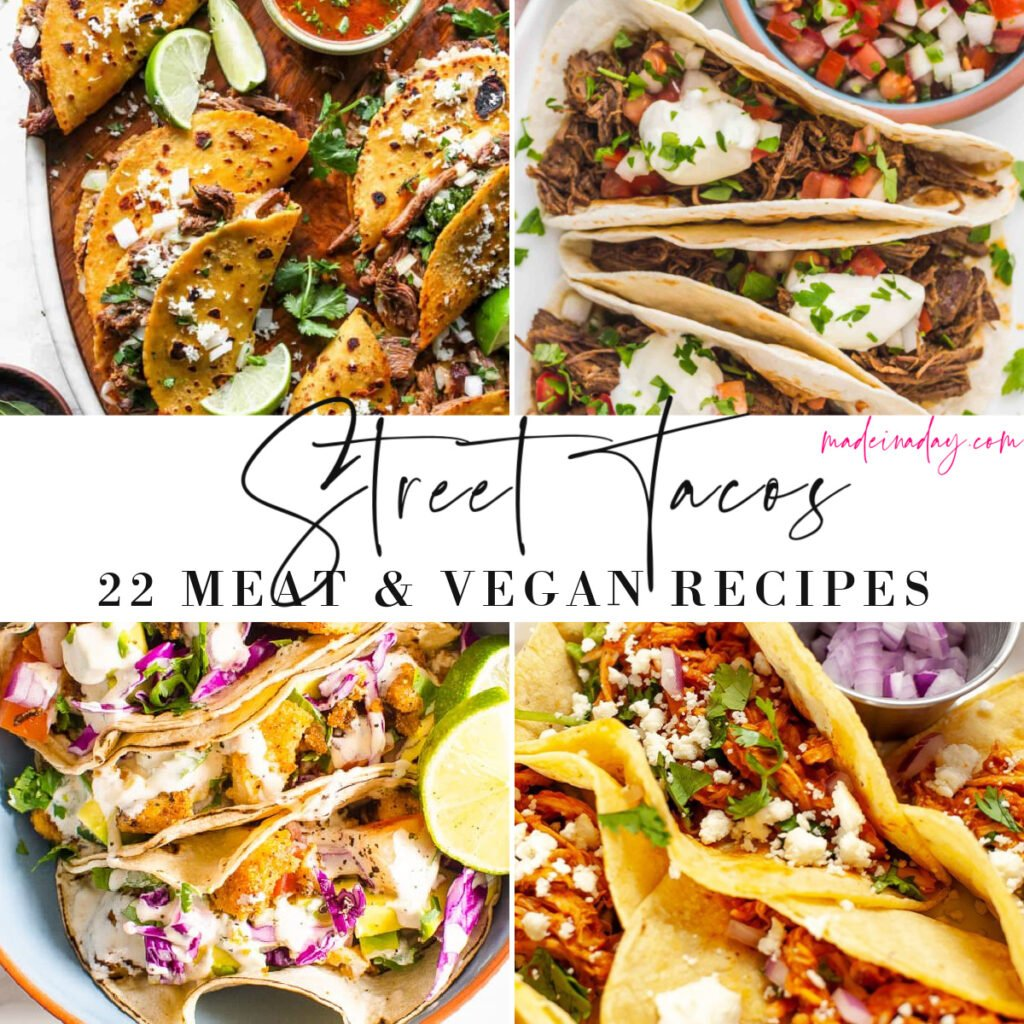 Mega List of Different Kinds of Mexican Tacos Recipes