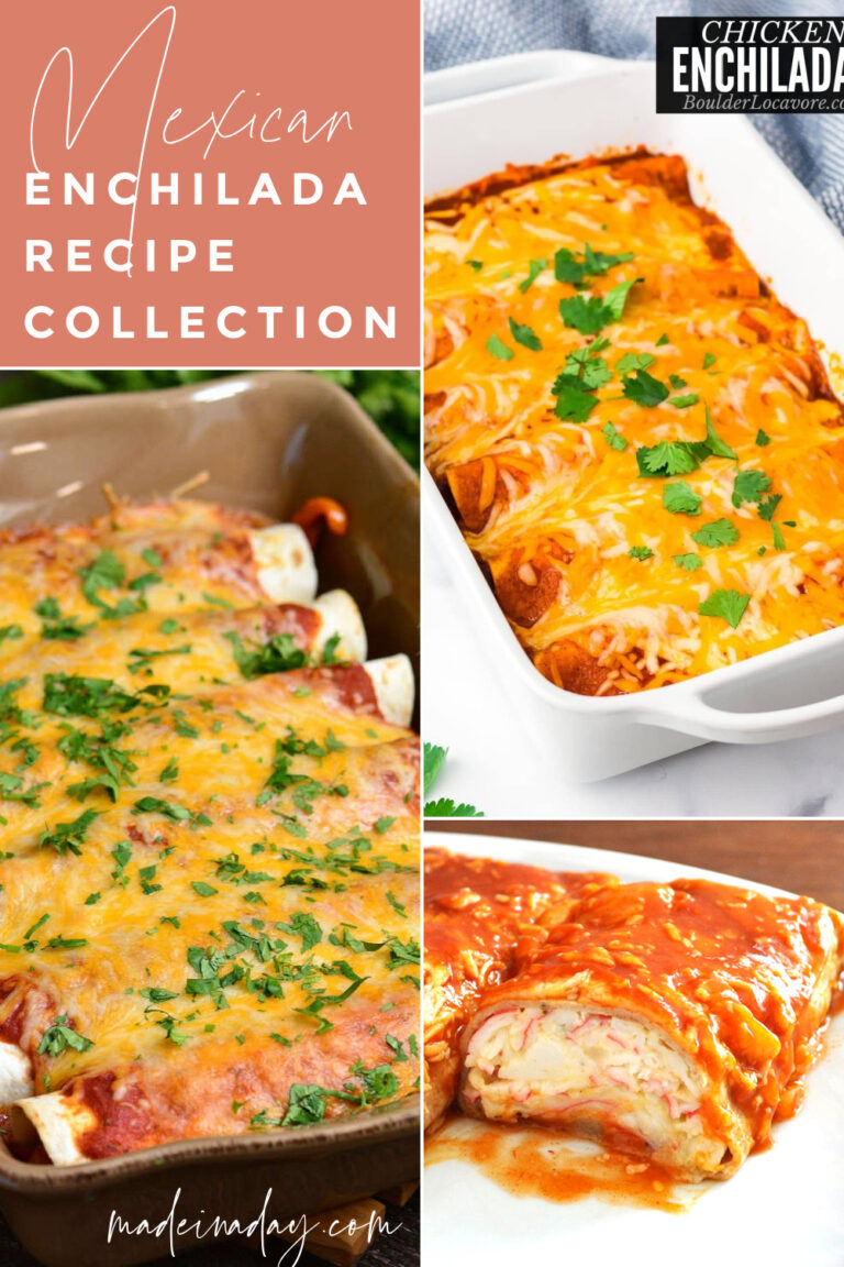 8 Easy Healthy Enchiladas Recipes