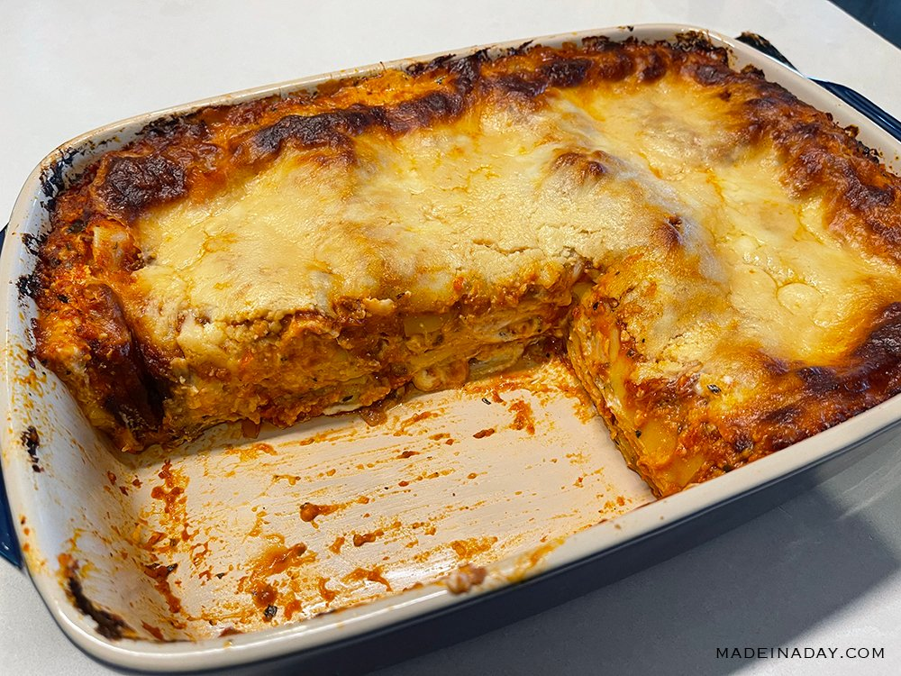 stoneware lasagna