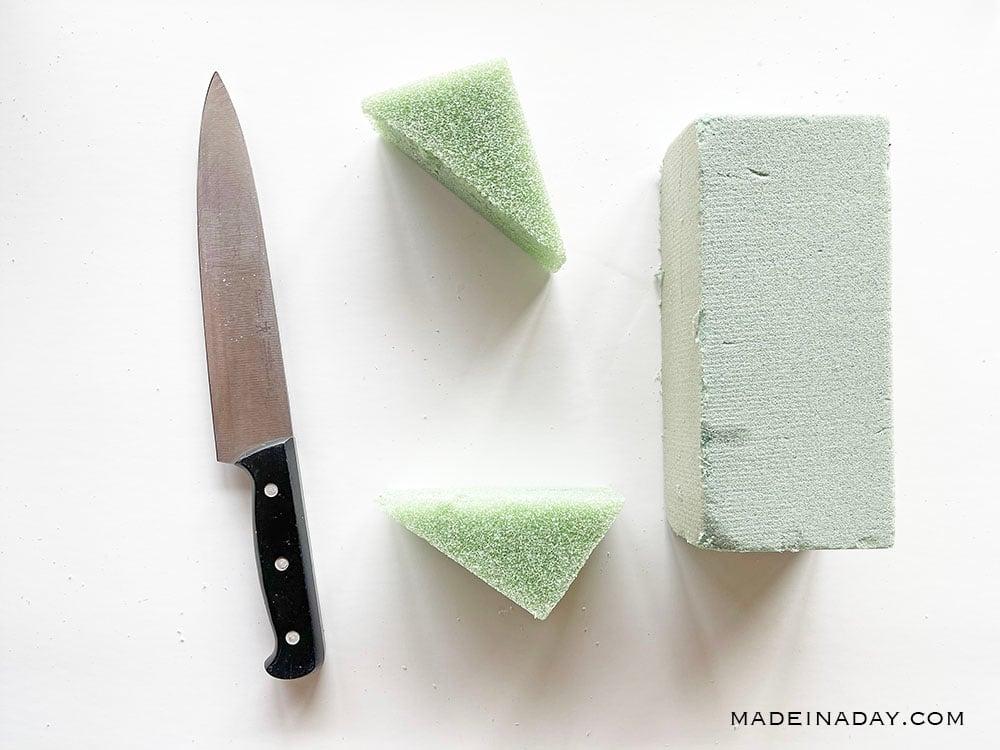 how to cut foam