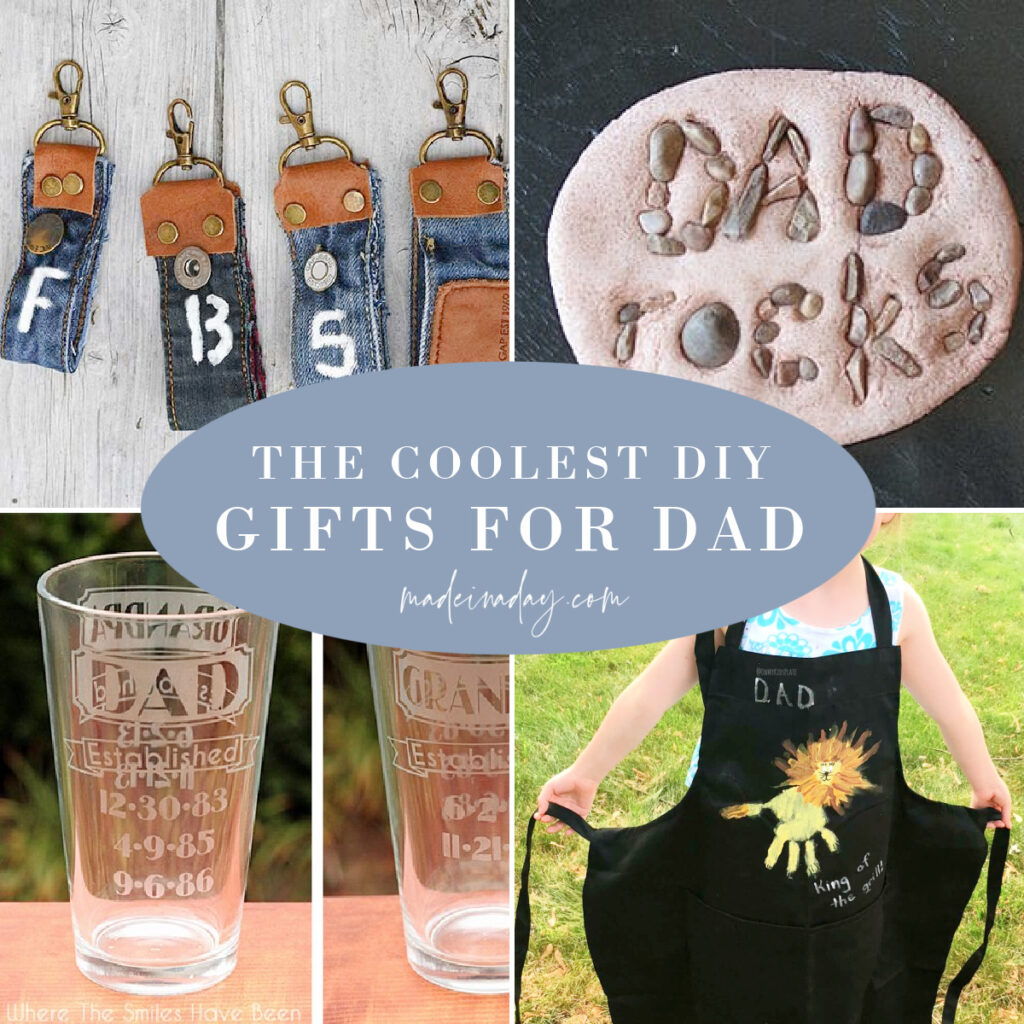 Easy to Make Gifts for Dad