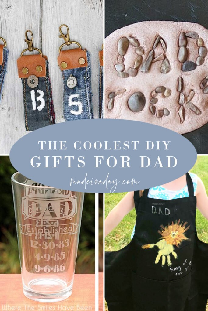 DIY homemade Easy to Make Gifts for Dad on fathers day