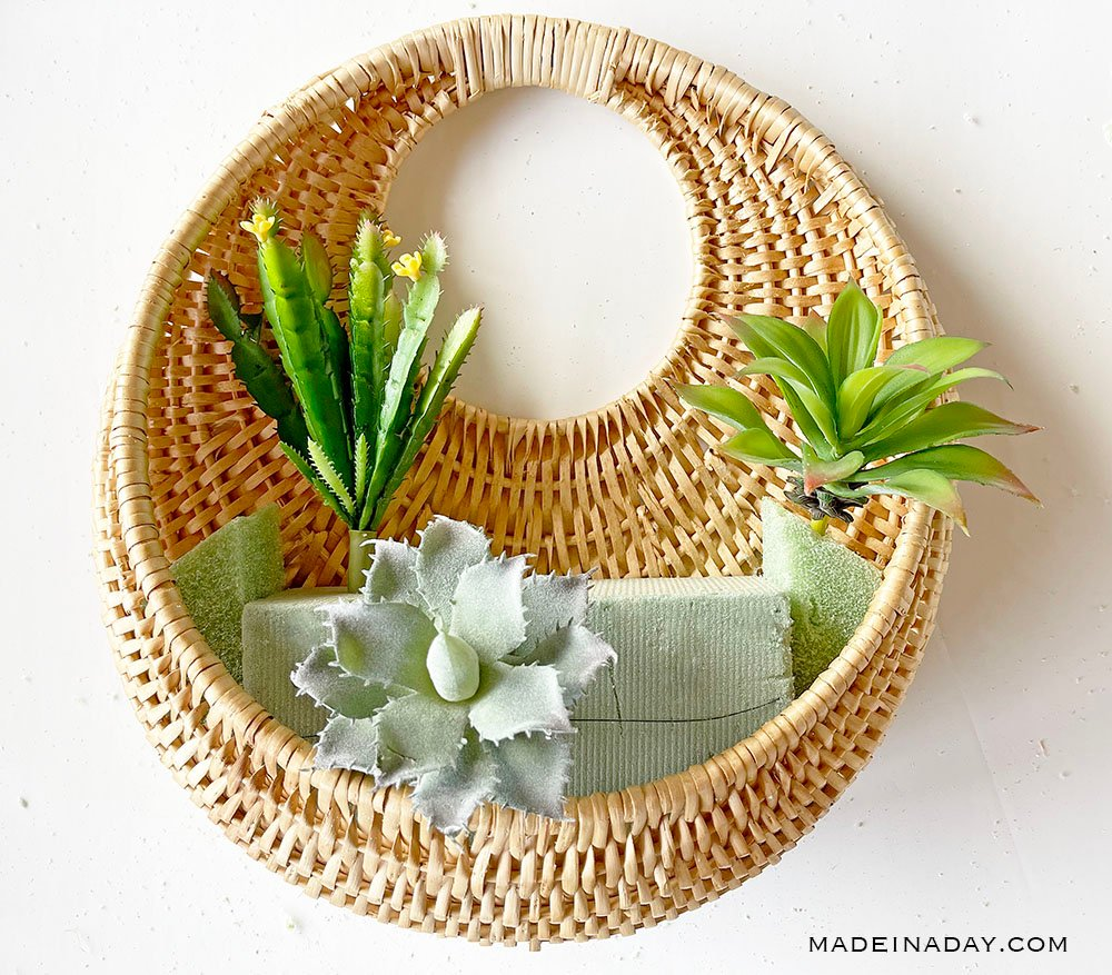 add succulents to basket