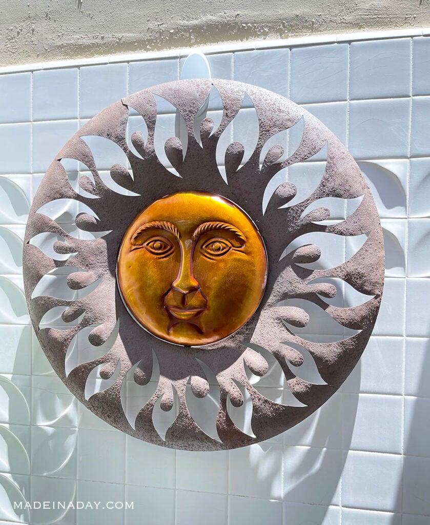 Brittnie Aurora Sun Wall Art