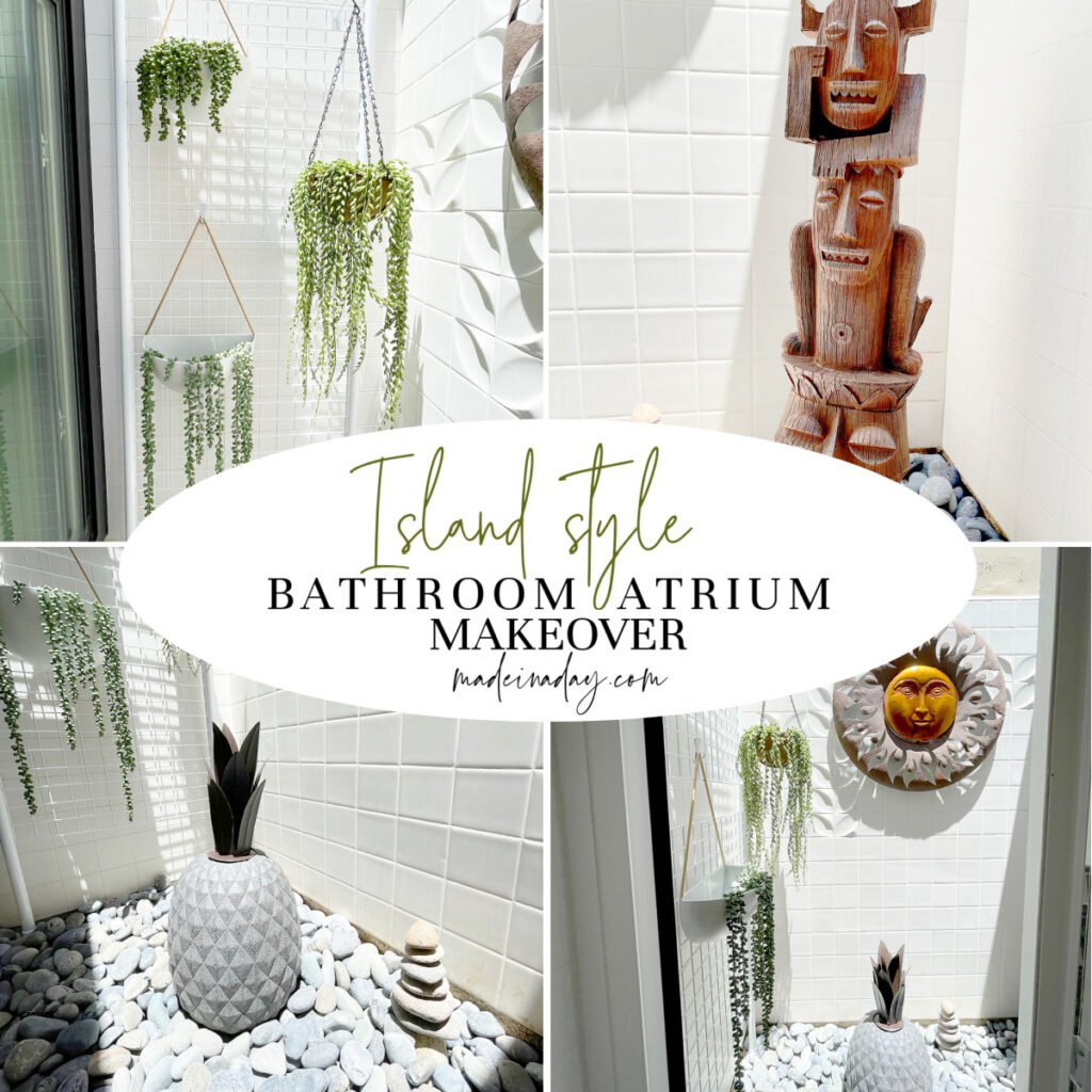 How to Decorate an Atrium Island Style!