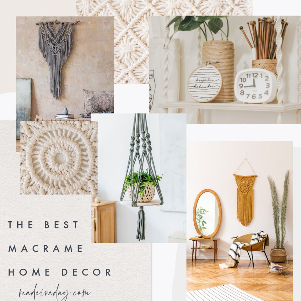 The Best Macrame Home Decor for Every Style