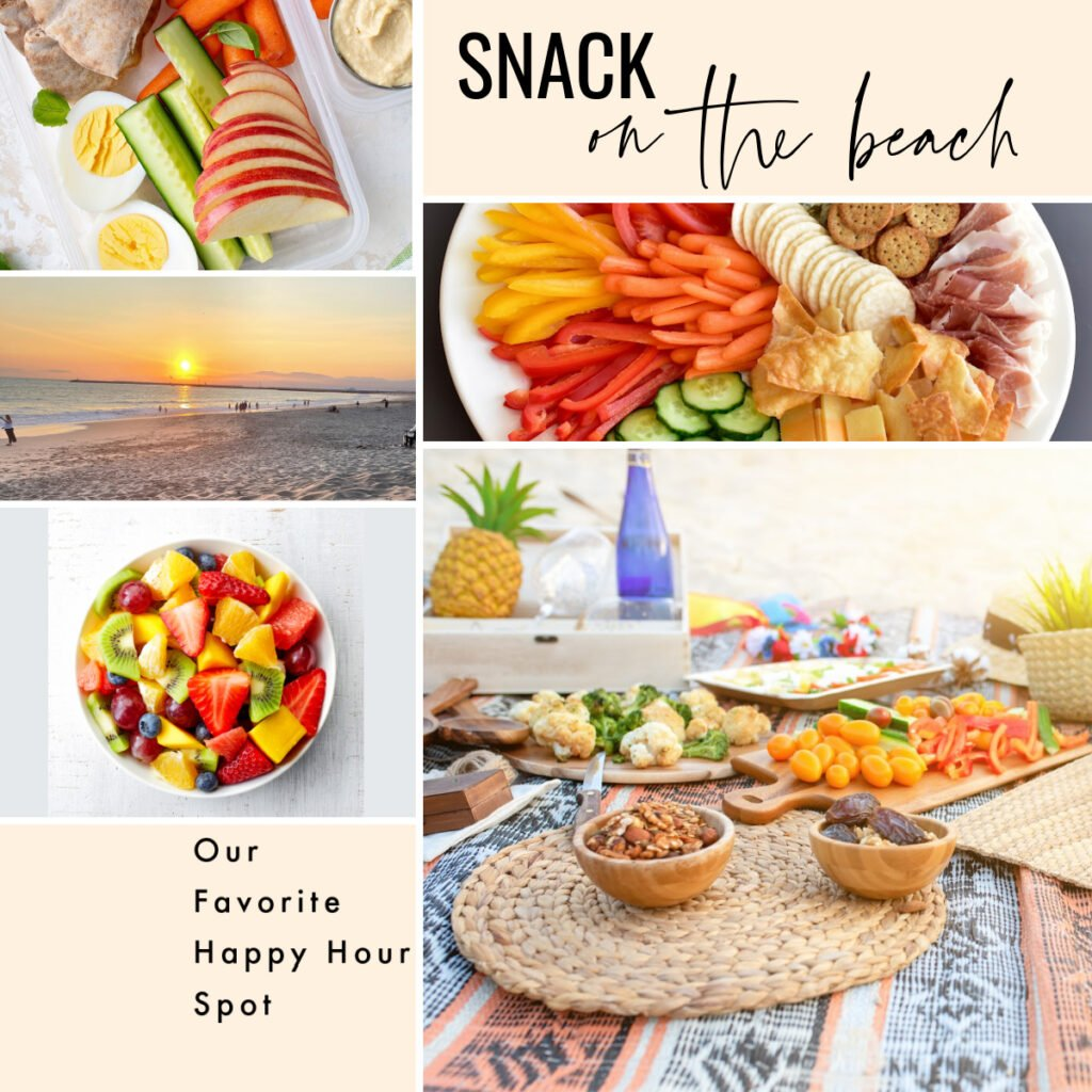 Snack on the Beach | Our Favorite Happy Hour Spot