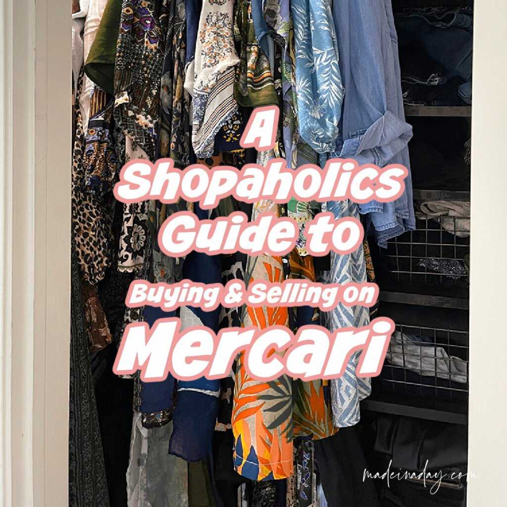 Shopaholics Guide on How to Sell Stuff Fast on Mercari
