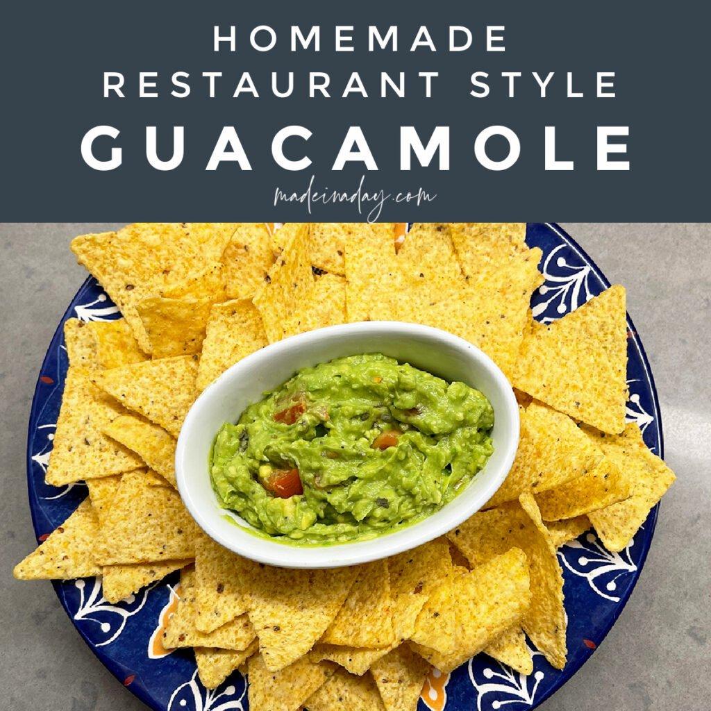 Our Best Kept Secret Guacamole Recipe | Super Easy