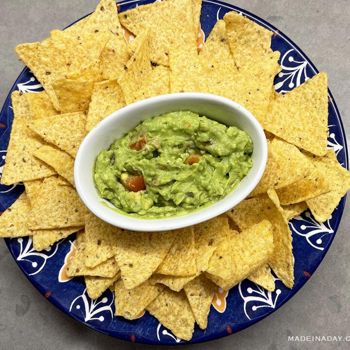 Restaurant Guacamole Recipe