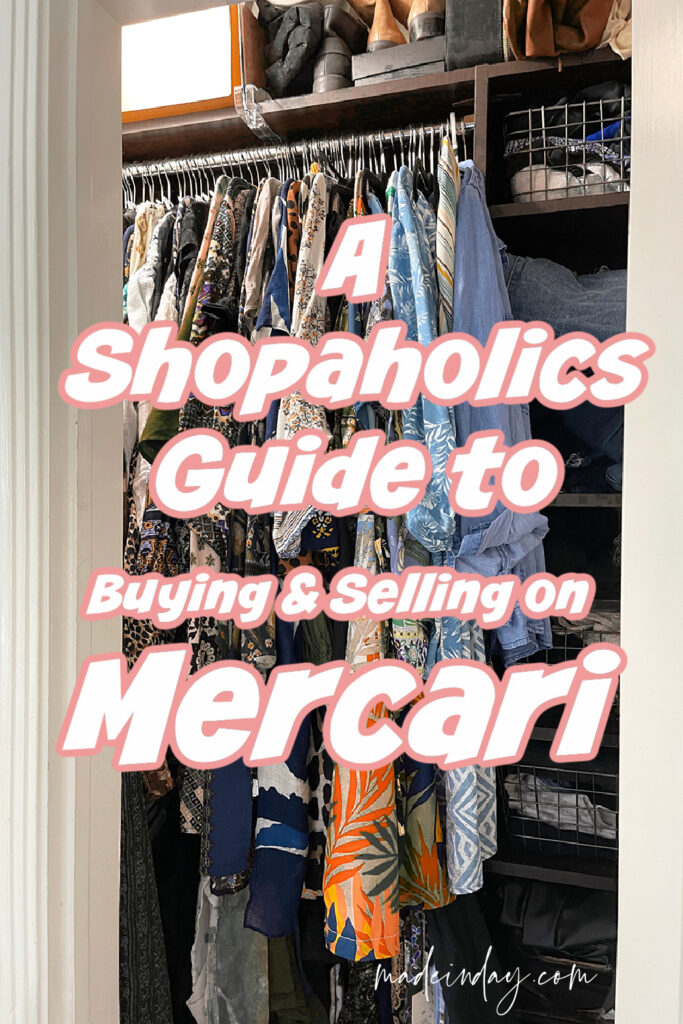 Shopaholics Guide How to Sell Stuff Fast on Mercari