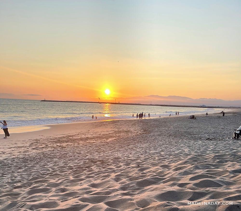 Toes beach CA