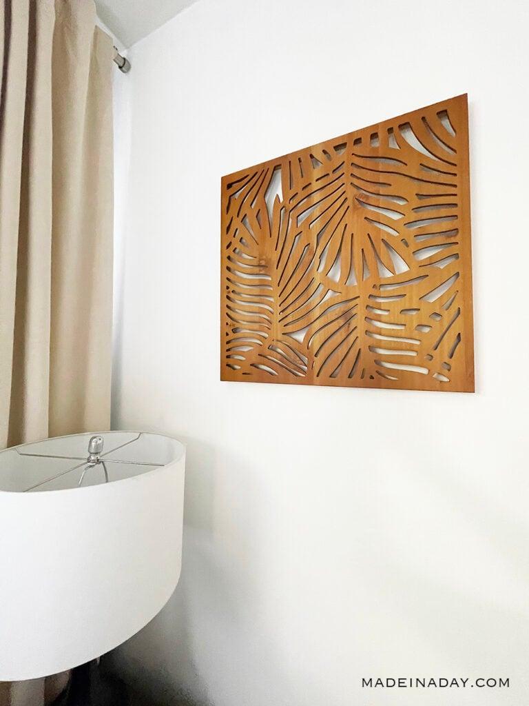 opalhouse wood palm  wall set