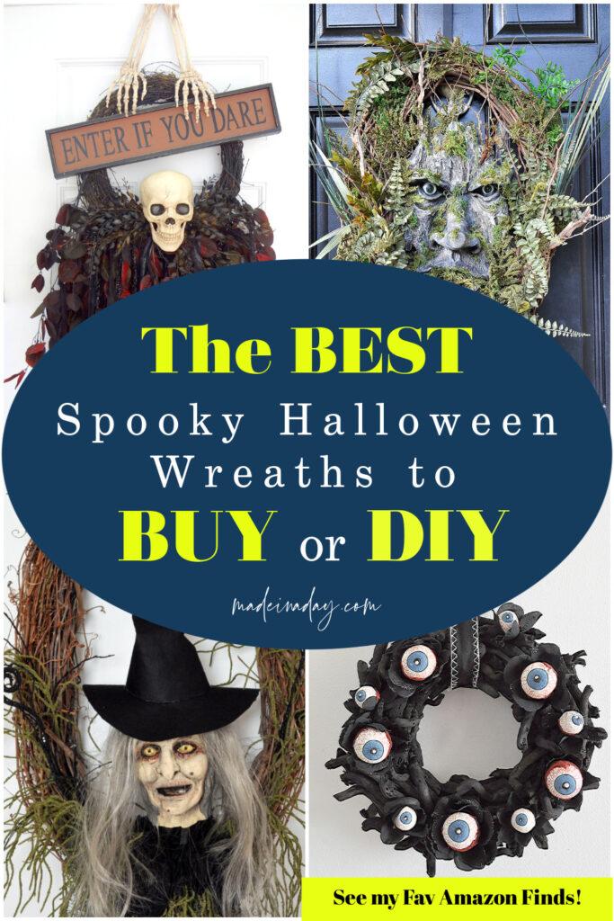 Halloween wreaths to buy on amazon