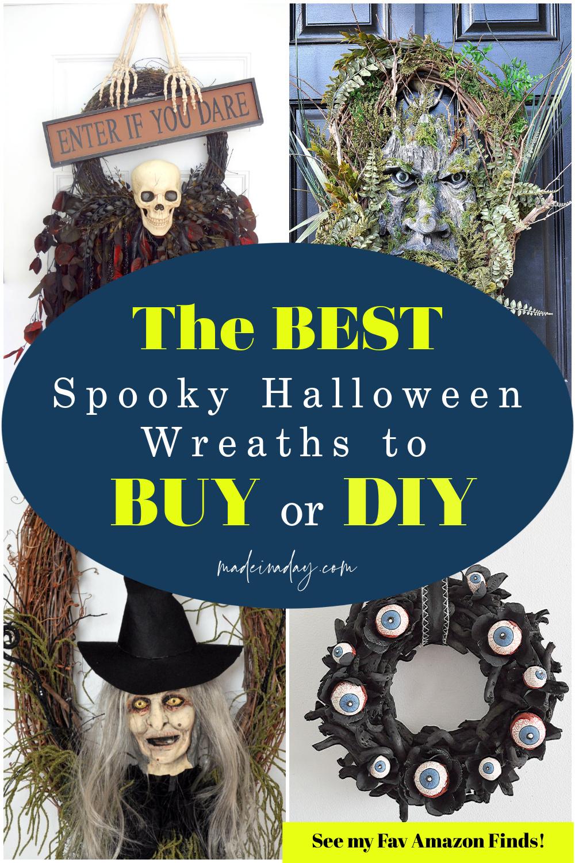 Spooky Halloween Wreath Picks to Haunt Your Home