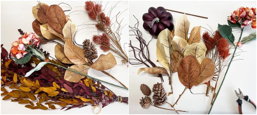 Separate picks for floral design